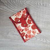 Case handmade. Livemaster - original item Phone case made of cotton