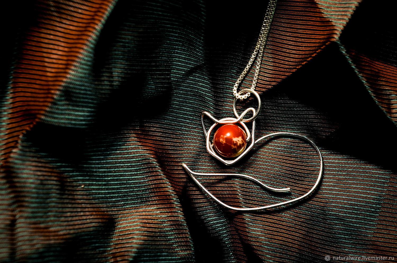 Кулон серебряный Лиса, Подвеска, Москва,  Фото №1
