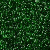 Материалы для творчества ручной работы. Ярмарка Мастеров - ручная работа 8/0 TOHO Transparent Grass Green (7B) 10 гр. Handmade.