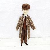 Куклы и игрушки ручной работы. Ярмарка Мастеров - ручная работа Доктор Ватсон – кукла текстильная, персонаж. Handmade.