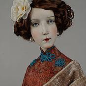 Куклы и игрушки ручной работы. Ярмарка Мастеров - ручная работа Авторская кукла Вивьен. Handmade.