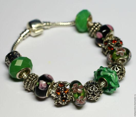 `Сказки леса`  Модульный браслет Все шармы на браслете можно приобрести отдельно и создать свой собственный браслет