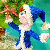 """Куклы и игрушки ручной работы. Ярмарка Мастеров - ручная работа Кукла """"Снежок"""". вязаные игрушки. Handmade."""