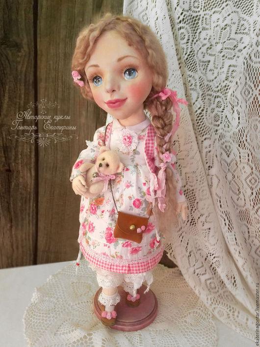 Коллекционные куклы ручной работы. Ярмарка Мастеров - ручная работа. Купить Есения. Текстильная кукла. Авторская интерьерная кукла. Handmade.