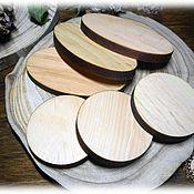 Спилы дерева ручной работы. Ярмарка Мастеров - ручная работа Заготовки из кедра овальные и круглые. Handmade.