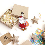 Подарки к праздникам handmade. Livemaster - original item Christmas tree decoration