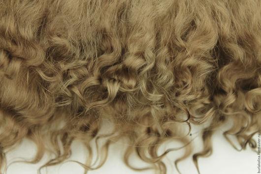 Куклы и игрушки ручной работы. Ярмарка Мастеров - ручная работа. Купить 122,1. Волосы для кукол. Handmade. Бежевый, волосы