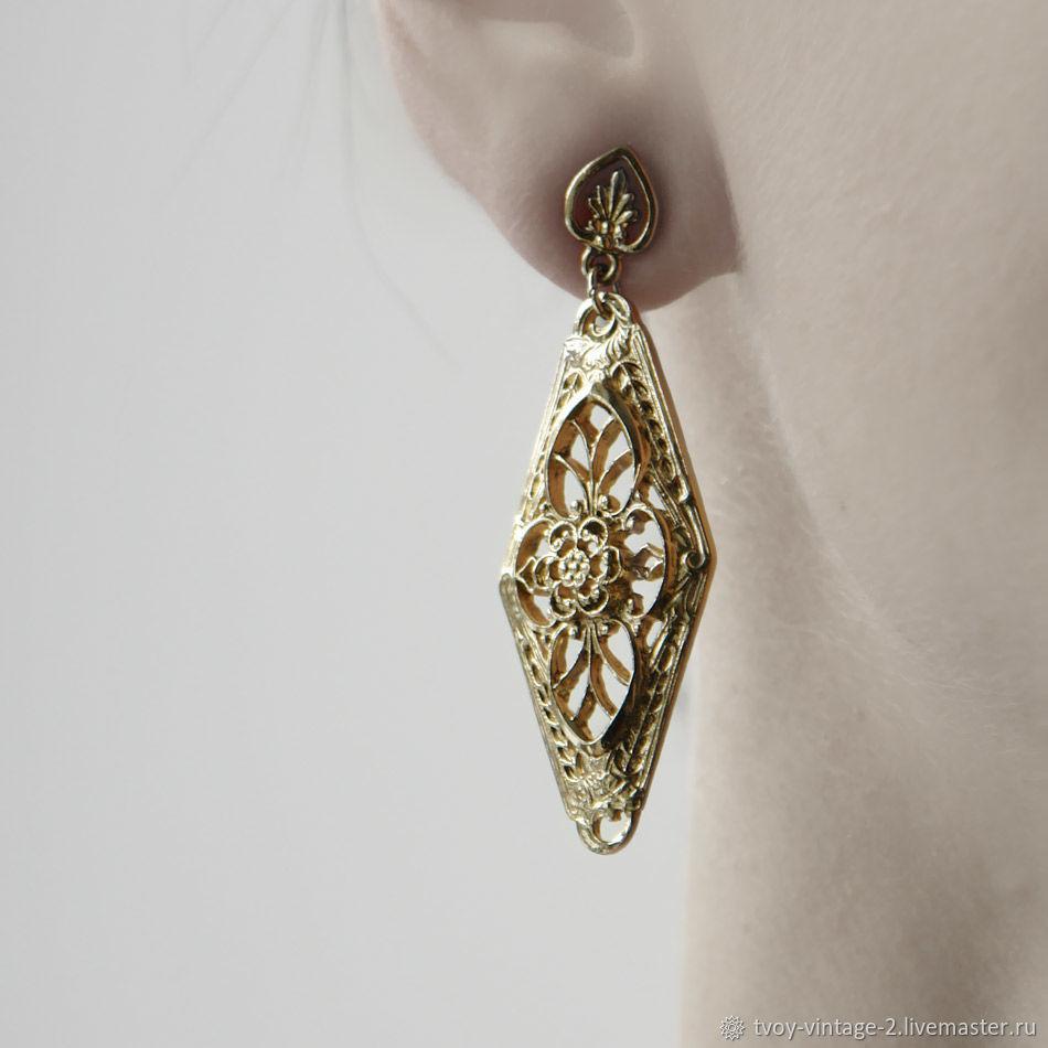 Винтаж: Серьги 1928 Jewelry - Изысканный образ, Серьги винтажные, Москва,  Фото №1