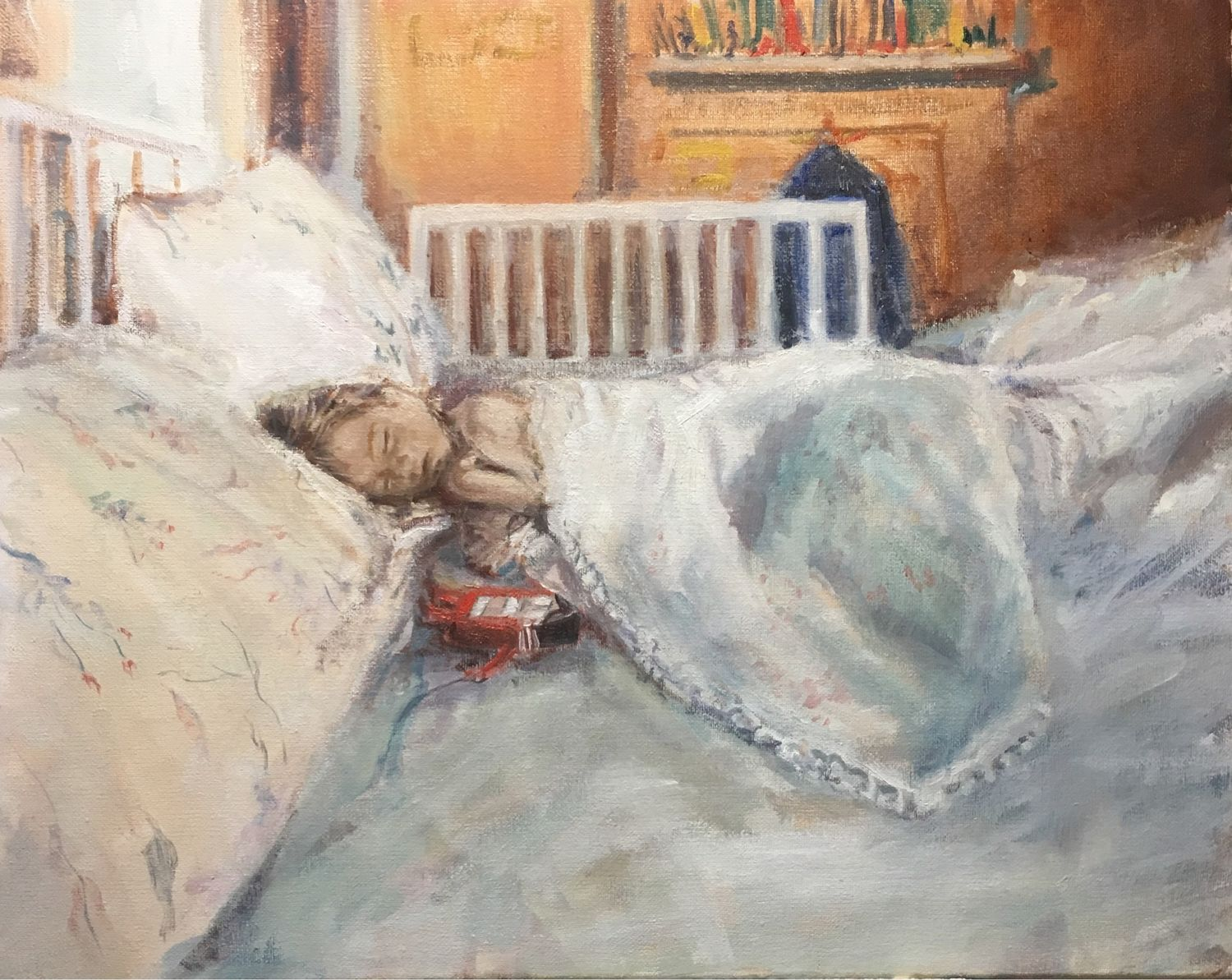 The picture of the 'Machine dreams' oil on canvas, Pictures, St. Petersburg,  Фото №1