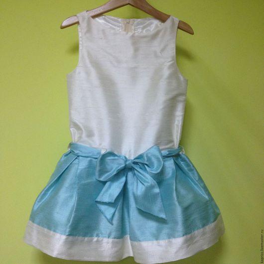 Одежда для девочек, ручной работы. Ярмарка Мастеров - ручная работа. Купить платье Тиффани. Handmade. Комбинированный, купить подарок