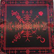 Фен-шуй и эзотерика handmade. Livemaster - original item Copy of Copy of Altar Cloth for pendulum. Handmade.