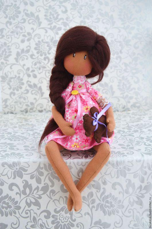 Коллекционные куклы ручной работы. Ярмарка Мастеров - ручная работа. Купить Беременюшка. Handmade. Розовый, кукла интерьерная, Беременность, беременяшка