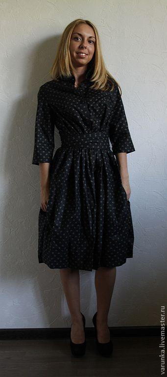 Платья ручной работы. Ярмарка Мастеров - ручная работа. Купить платье № 34. Handmade. Винтаж, черное платье, платье