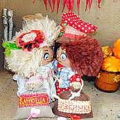 Куклы и игрушки ручной работы. Ярмарка Мастеров - ручная работа Домовята -влюблённые. Handmade.