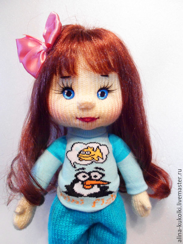 Платье для куклы вероники