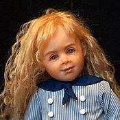 Куклы и игрушки ручной работы. Ярмарка Мастеров - ручная работа Эмилия 57 см. Handmade.