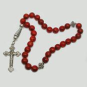 Фен-шуй и эзотерика handmade. Livemaster - original item Orthodox rosary of coral
