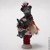 Куклы и игрушки ручной работы. Ярмарка Мастеров - ручная работа Шей, любимая машинка. Handmade.