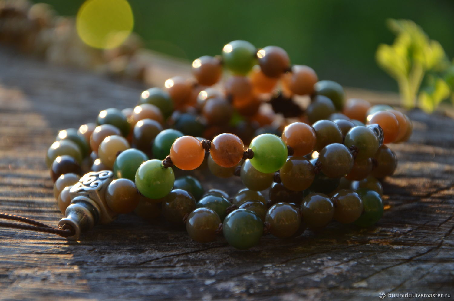 A copy of the work of a jade Rosary, exclusive rosary, Rosary, Pereslavl-Zalesskij,  Фото №1
