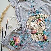Одежда handmade. Livemaster - original item t-shirt trapeze Zaya. Handmade.
