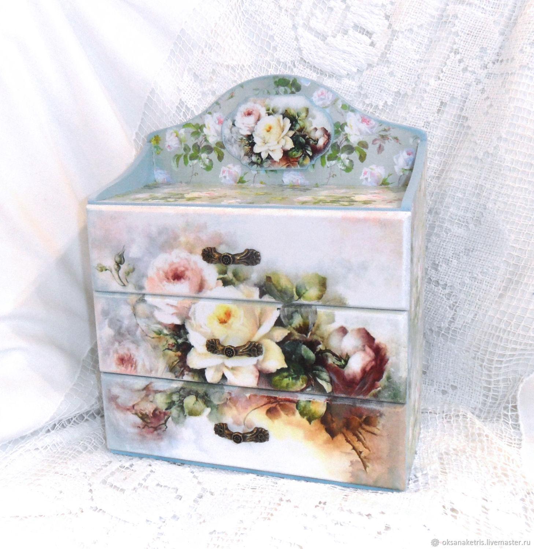 Mini-komodik Roses, Mini Dressers, Novosibirsk,  Фото №1