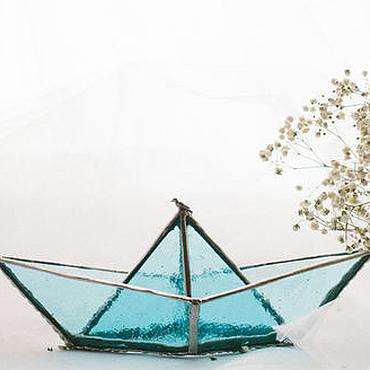Для дома и интерьера ручной работы. Ярмарка Мастеров - ручная работа Кораблик. Handmade.
