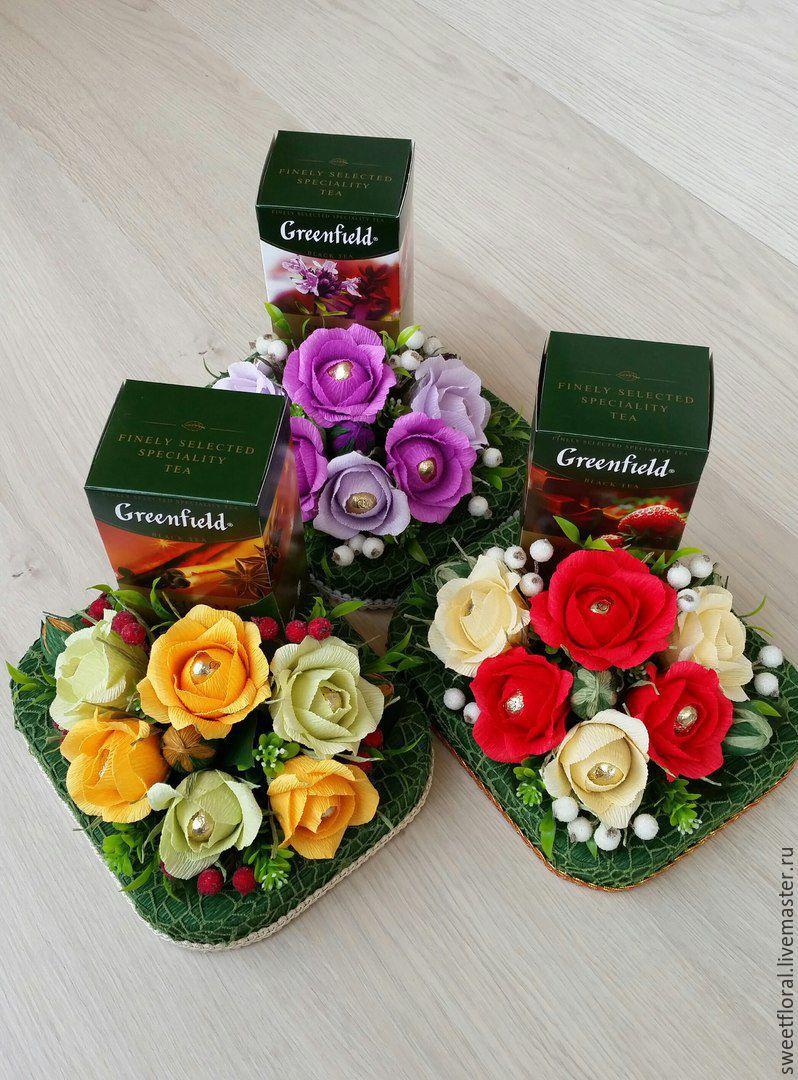 Вышивка чайные розы схема 84