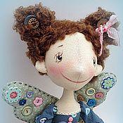 Куклы и игрушки ручной работы. Ярмарка Мастеров - ручная работа фейка-швейка  в голубом. Handmade.