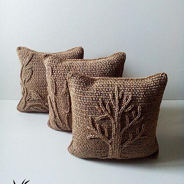 Textiles handmade. Livemaster - original item Pillowcases set Secrets of the forest. Handmade.