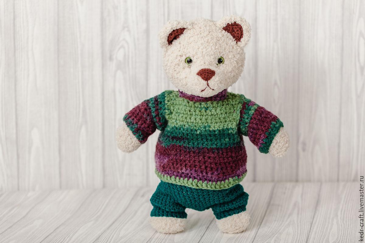 Бернард медведь игрушка