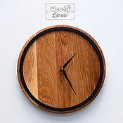 Для дома и интерьера ручной работы. Ярмарка Мастеров - ручная работа Часы настенные Framed из дуба. Handmade.