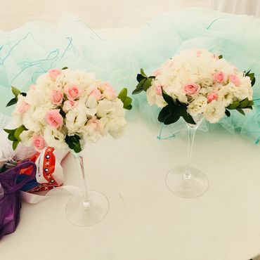Свадебный салон ручной работы. Ярмарка Мастеров - ручная работа Композиции из живых цветов. Handmade.
