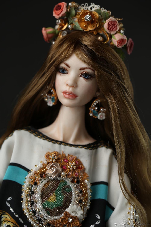 Фарфоровая шарнирная кукла Дольче Вита, Шарнирная кукла, Санкт-Петербург,  Фото №1