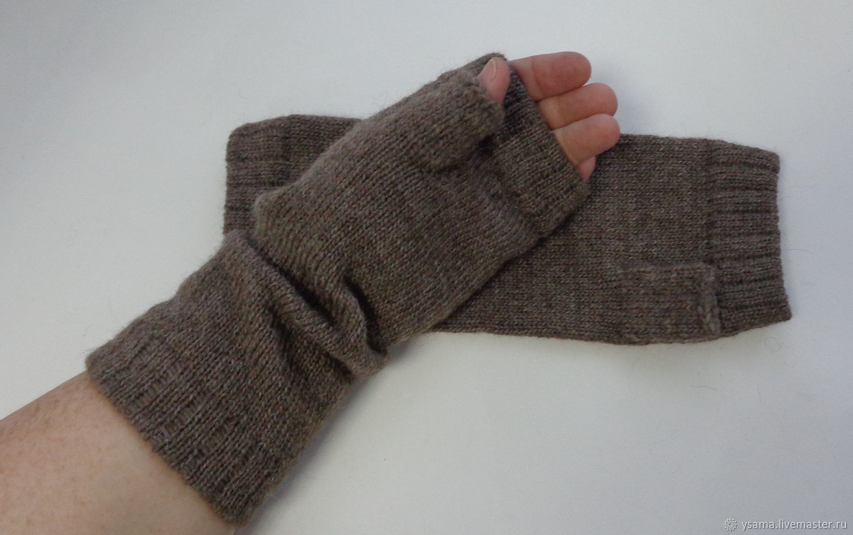 MICAH Alpaca long fingerless gloves mens womens – shop online on ...