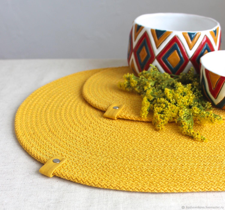 Napkins serving cotton placemats, Swipe, Nizhnij Tagil,  Фото №1