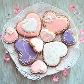 handmade. Livemaster - original item Gingerbread hearts. Handmade.