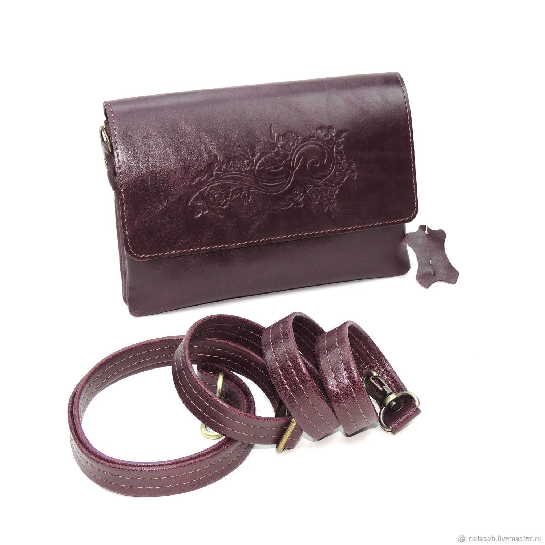 Bags: Clutch bag women's leather Burgundy Daria Mod S74p-682, Classic Bag, St. Petersburg,  Фото №1