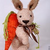 Куклы и игрушки ручной работы. Ярмарка Мастеров - ручная работа Заяц Егор. Тошкин Дом. Handmade.
