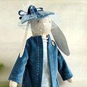Куклы и игрушки ручной работы. Ярмарка Мастеров - ручная работа Синий,синий иней.... Handmade.