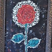 """Картины и панно ручной работы. Ярмарка Мастеров - ручная работа Картина """"Роза"""", """"Посвещение"""". Handmade."""