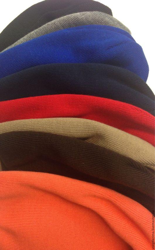 """Шапки ручной работы. Ярмарка Мастеров - ручная работа. Купить Шапка трикотажная """"Мультиколор"""". Handmade. Комбинированный, высокая шапка"""