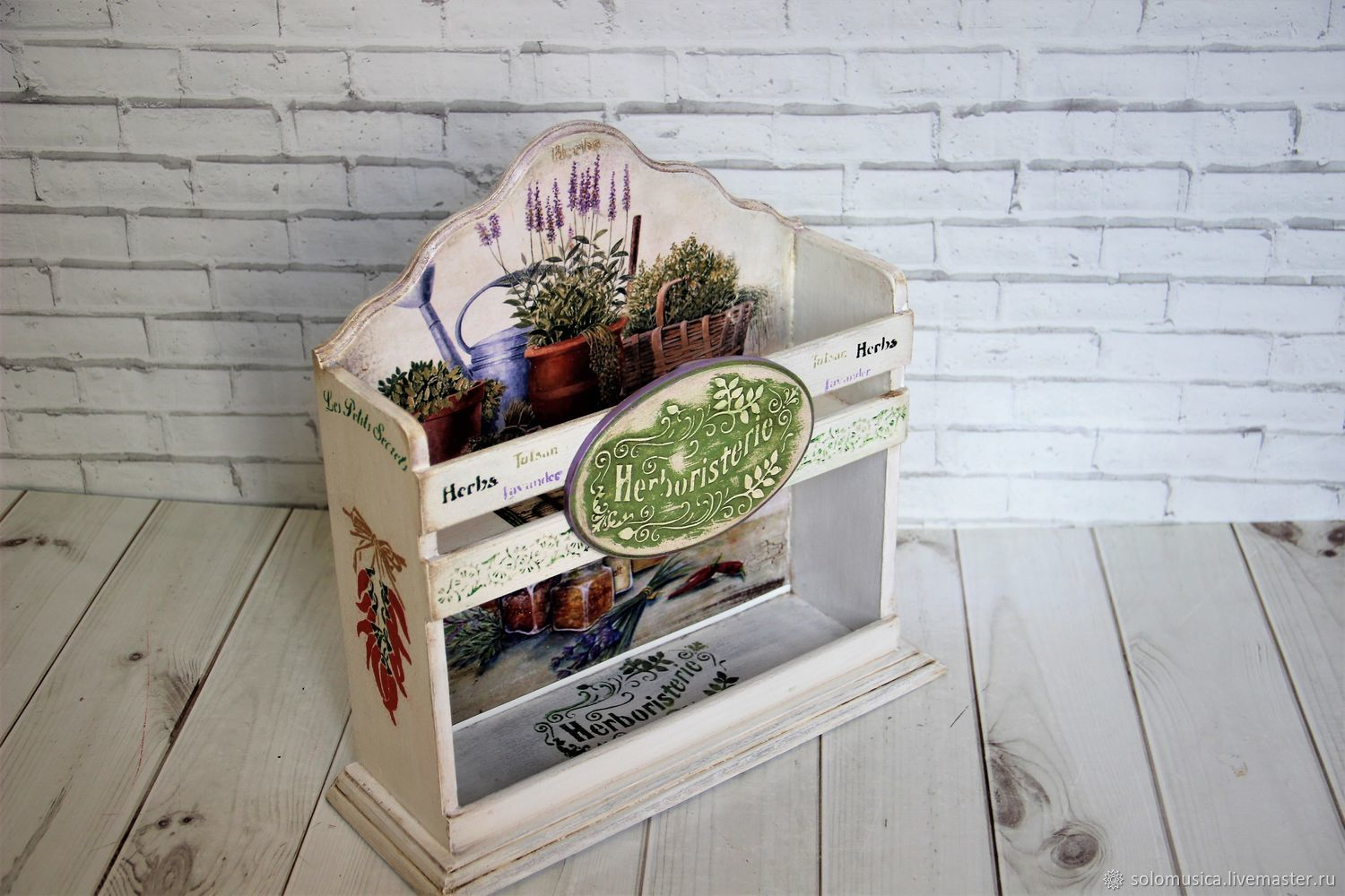 The spice rack in the style of provence-2, Exterior, Krasnodar,  Фото №1