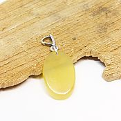 Украшения handmade. Livemaster - original item Pendant with yellow agate 2. Handmade.