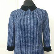 Одежда ручной работы. Ярмарка Мастеров - ручная работа 003:Повседневное платье, теплое платье, платье из шерсти. Handmade.