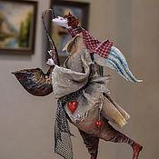Куклы и игрушки ручной работы. Ярмарка Мастеров - ручная работа ангел с саксофоном.. Handmade.