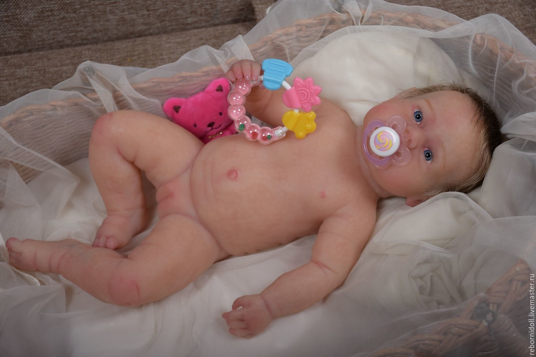 Baby Dolls   Reborn Toys handmade. Livemaster - handmade. Buy Full silicone  doll girl ... d4f86ce616