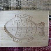 """Русский стиль ручной работы. Ярмарка Мастеров - ручная работа Пряничная форма """"Рыбка"""". Handmade."""