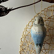 Подарки к праздникам ручной работы. Ярмарка Мастеров - ручная работа Керамические попугайчики. Handmade.