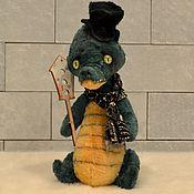 Куклы и игрушки ручной работы. Ярмарка Мастеров - ручная работа Крокодильчик Кокоша. Handmade.