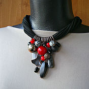Украшения handmade. Livemaster - original item The Necklace Was Given. graphics. Handmade.